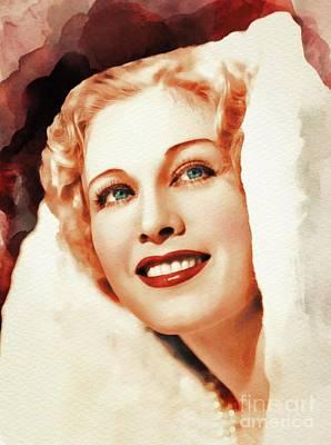 Esther Ralston, Vintage Actress Art Print