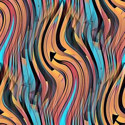 Digital Art - Eternal by David Manlove