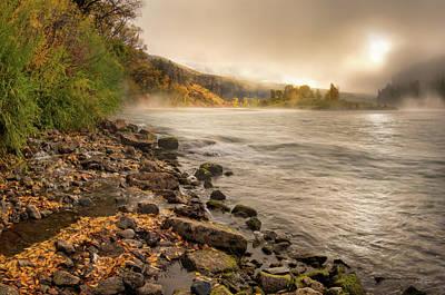 Photograph - Ethereal Autumn Beauty by Leland D Howard