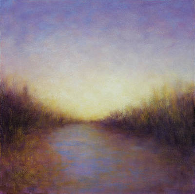 Painting - Ethereal Marsh Light by Victoria Veedell