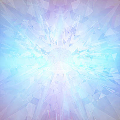 Digital Art - Etheric Crystal by Barry Costa