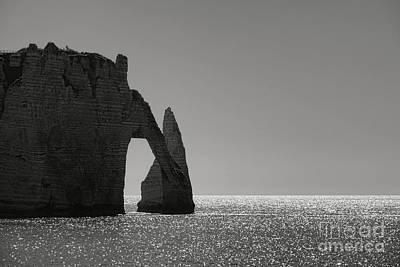 Photograph - Etretat by Olivier Le Queinec