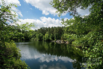 Photograph - Euchee Creek Park - Grovetown Trails Near Augusta Ga 2 by Sanjeev Singhal