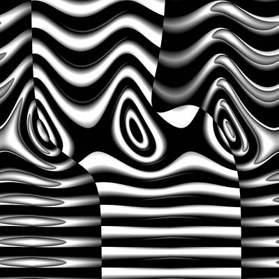 Digital Art - Eunicycles by Andrew Kotlinski