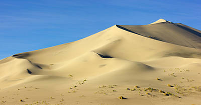 Photograph - Eureka Valley Dunes, Death Valley by Eastcott Momatiuk