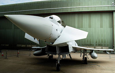 Photograph - Eurofighter Typhoon Up Close by Scott Lyons