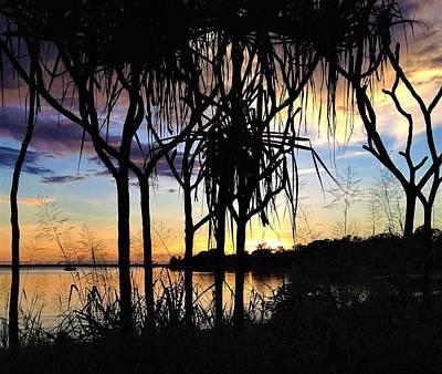 Landscape Wall Art - Photograph - Evans Landing Sunset1 by Joan Stratton