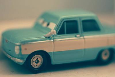 Photograph - Evan's Little Toy Car by The Art Of Marilyn Ridoutt-Greene