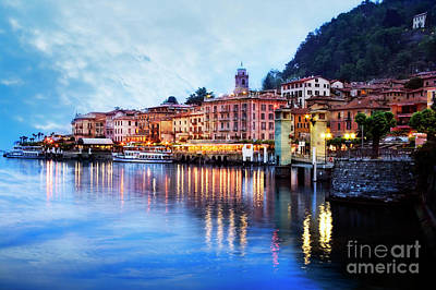 Photograph - Evening At Bellagio by Scott Kemper