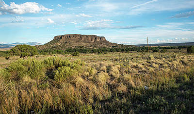 Photograph - Evening At Black Mesa by Tom Cochran
