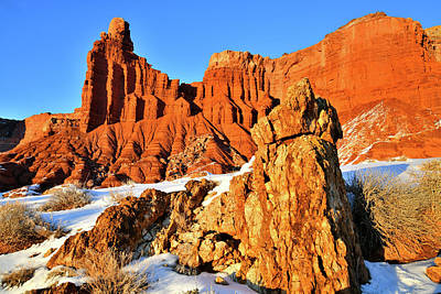 Photograph - Evening At Capitol Reef National Park by Ray Mathis