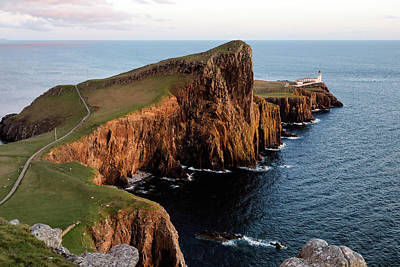 Photograph - Evening At Neist Point by Nicholas Blackwell