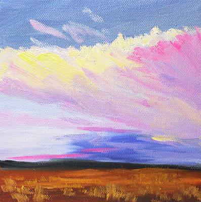 Painting - Evening Cloud by Nancy Merkle