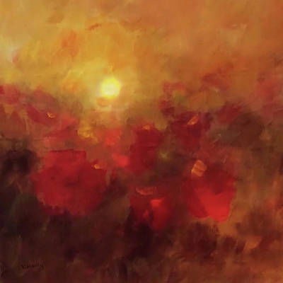 Painting - Evening Glow by Valerie Anne Kelly