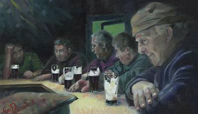 Painting - Evening in Annascaul by Catherine Considine