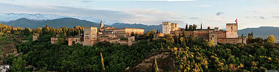 Photograph - Evening In The Alhambra by Weston Westmoreland