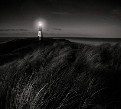 Photograph - Evening Light At Spurn Point by Paul Indigo
