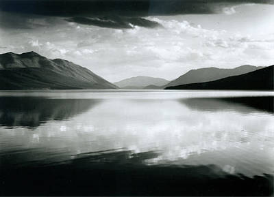Photograph - Evening, Mcdonald Lake, Glacier by Archive Photos
