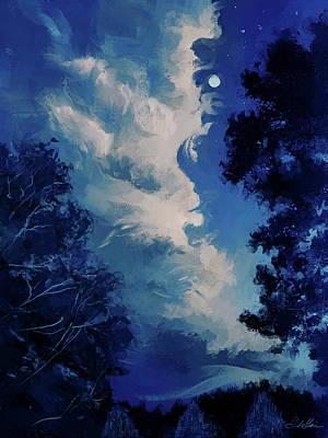 Digital Art - Evening Thunder by Garth Glazier