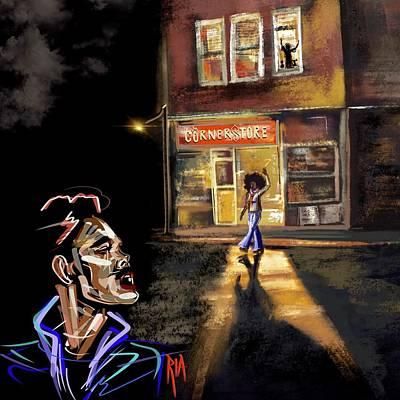 Nyc Digital Art - Every Corner Has A Story by Artist RiA