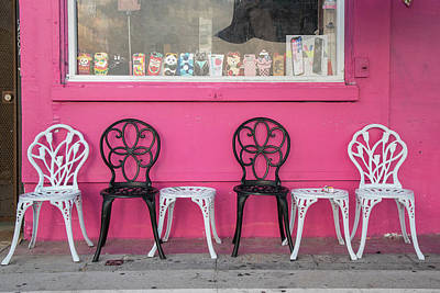 Photograph - Every Other Chair  by John McGraw