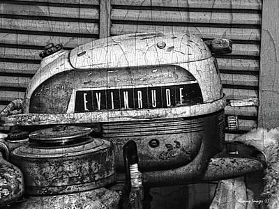 Photograph - Evinrude by Wesley Nesbitt