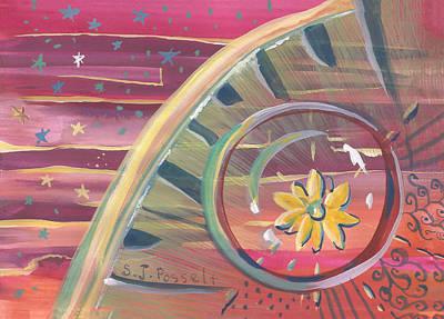 Painting - Evolving Center by Sheri Jo Posselt