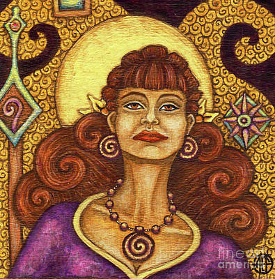 Painting - Exalted Beauty Faith by Amy E Fraser