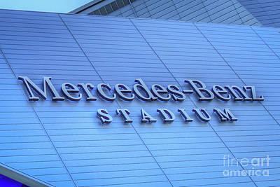 Photograph -  Excellance Mercedes- Benz Stadium Atlanta N F L Super Bowl 2019 Art by Reid Callaway