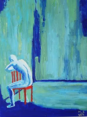 Painting - Excluded by Mats Eriksson