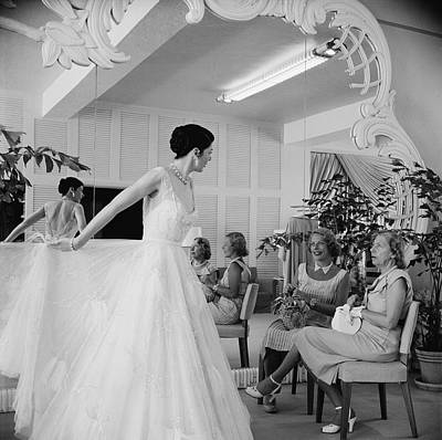 Photograph - Exclusive Fashions by Slim Aarons