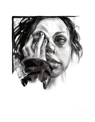 Exhaustion Art Print