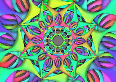 Digital Art - Exper Object Remix  by Vitaly Mishurovsky