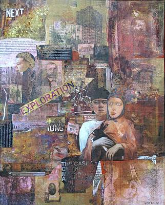 Mixed Media - Exploration by Judy Tolley