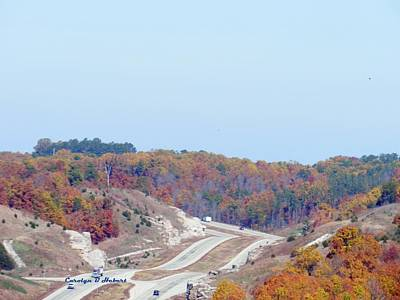 Wall Art - Photograph - Expressions Of Fall On Rolling Hills Of Northern Arkansas Highways by Carolyn Hebert