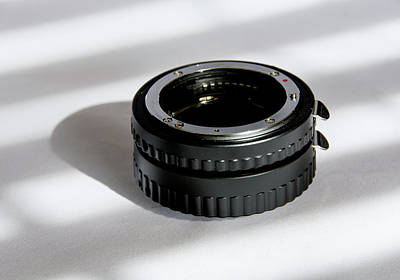 Photograph - Extension Tubes by Jennifer Wick