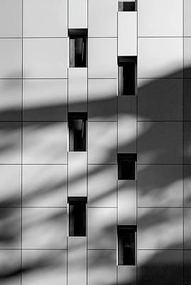 Photograph - Exterior Wall And Windows by Robert Ullmann