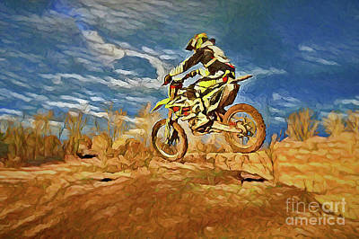 Photograph - Extreme Sports A8-19 by Ray Shrewsberry