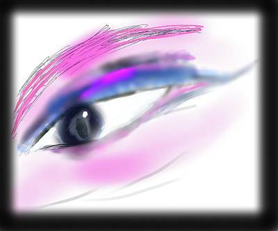 Digital Art - Eye by Jean Evans
