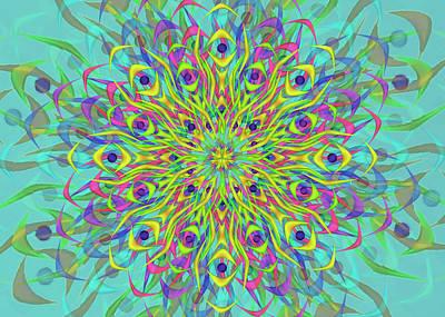 Digital Art - Eyes Remix One by Vitaly Mishurovsky
