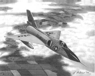 Grateful Dead - F-106 Delta Dart by Del Andrew