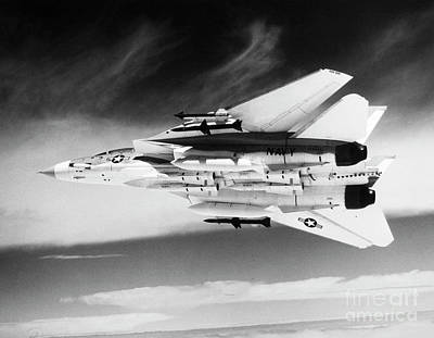 Photograph - F-14 Tomcat Fighter Plane by Granger