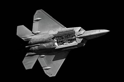 Photograph - F-22 Weapons Bay by Chris Buff