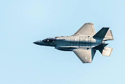 Photograph - F-35 Lightning II by Randy Scherkenbach