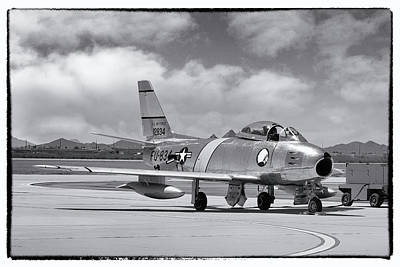 Photograph - F-86 Sabre by Chris Smith