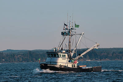 Photograph - F/v Adventurous by Lost River Photography