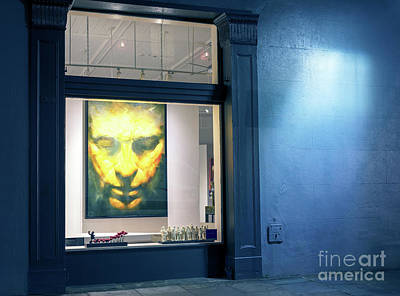 Photograph - Face In Window New Orleans by John Rizzuto