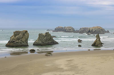 Photograph - Face Rock Trail, Bandon Beach, Oregon by Dawn Richards