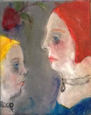 Painting - Face To Face by Debbie Callahan