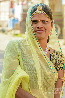 Photograph - Faces Of Jodhpur 01 by Werner Padarin